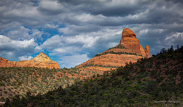 Sedona Cloudy Day by Ross Henton