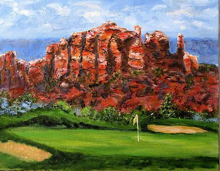 Sedona Golf by Thomas Restifo