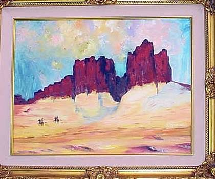 Sedona Hills by Margaret Carson