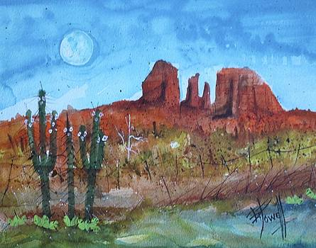 Sedona Moon by George Powell