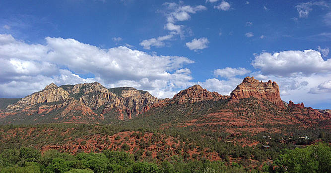John Clark - Sedona Mountains