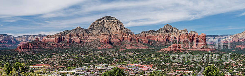 Sedona Panorama by Jim Chamberlain