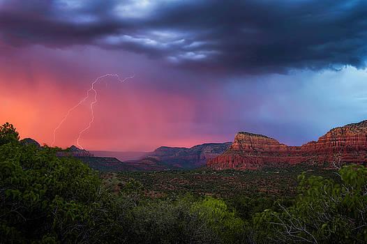 Sedona Storm  by Ron McGinnis