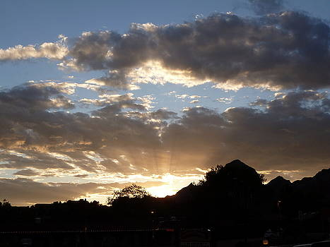 Sedona Sunset by James Martin