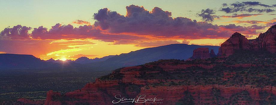 Sedona Sunset by Stacy Burk