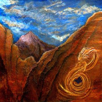 Sedona Vortex by The Art With A Heart By Charlotte Phillips