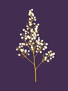Seeds - Mauve by David Lange