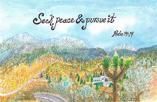 Seek Peace by Catherine Saldana
