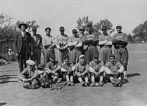 Segundo Mine Baseball Players by Colorado Fuel and Iron Photo Department