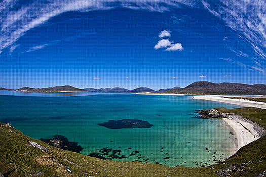 Seilebost beach on the Isle of Harris by Michael Schofield