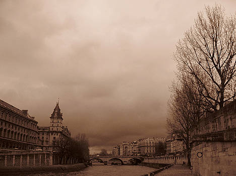 Seine Paris by John Douglas