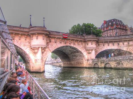 Seine Paris by Yury Bashkin