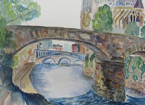 Seine View Paris by Albert Fendig