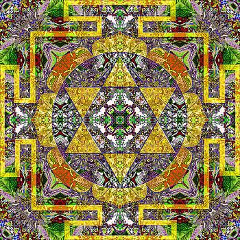 Self-esteem Mandala by Julian Venter