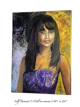 Self Portrait 1 by Mohita Bhatnagar