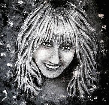Self Portrait #1 by Teresa Wing