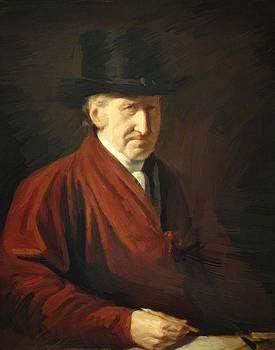 West Benjamin - Self Portrait 1819