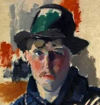 Wouters Rik - Self Portrait 1915