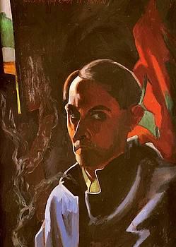 Witkiewicz Stanislaw Ignacy - Self Portrait 1924