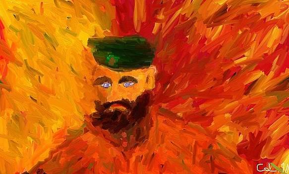Self-portrait 2 by Lazar Caran