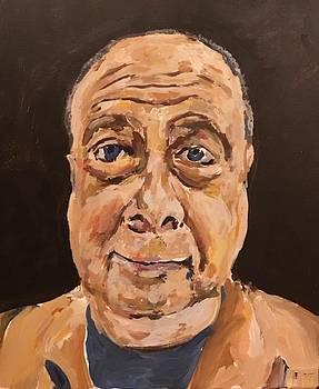 Self portrait 2018 by Norman Burnham