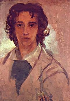 Watts George Frederick - Self Portrait As A Young Man 1834