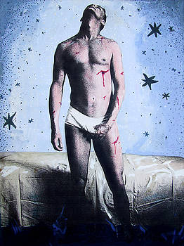 Self Portrait as Saint Sebastian by John Douglas