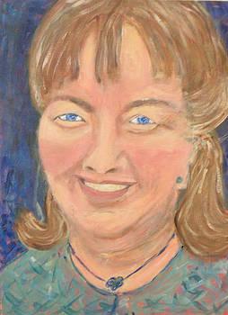 Self Portrait by Carolyn Donnell
