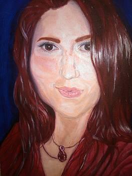 Self-Portrait by Crystal N Puckett