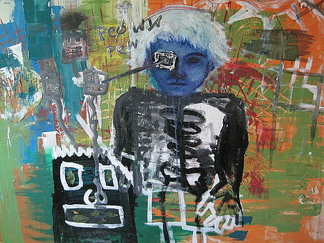 Self Portrait by David Kristjanson