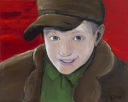 Self Portrait by Davis Elliott