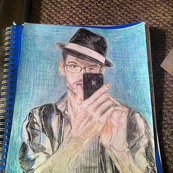 Self portrait by Dennis Mikota