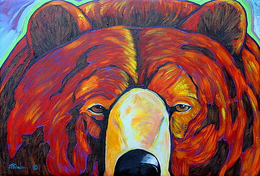 Self Portrait - Grizzly by Joe  Triano