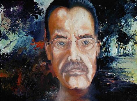 Self Portrait by HGW Schmidt