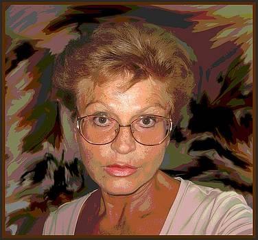 self portrait II by Kneki Krtukaj