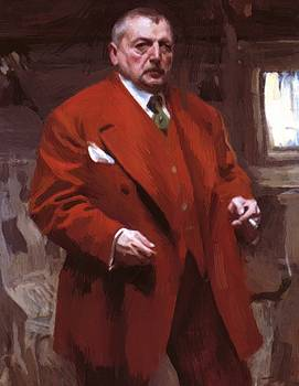 Zorn Anders - Self Portrait In Red 1915