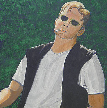 Self Portrait by James Violett II