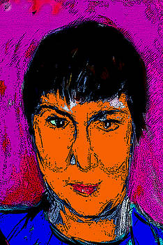 Self Portrait by Joyce Goldin