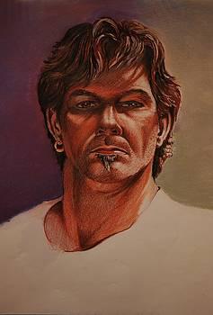 Self Portrait by Kerry Burch