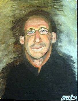 Self portrait of the Artist by Mark Richard Luther