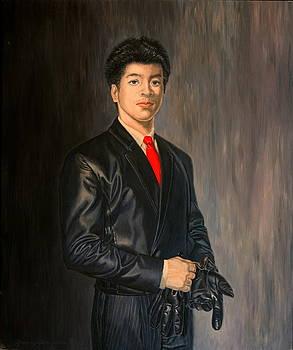 Self Portrait by Rosencruz  Sumera