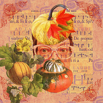 Self Portrait Symphony of Autumn by Amy Jo Garner