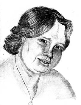 Self-portrait by Wendy Keely