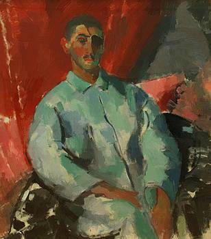 Wouters Rik - Self Portrait With Black Bandage 1915