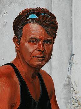 Self portrait with tan by Dan Koon