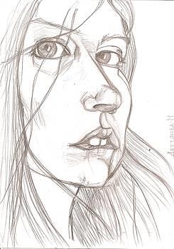 Self-portrait2 by Maria Degtyareva
