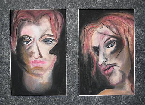 Self-portraits Circa 1995 by Darkest Artist
