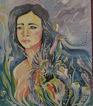 Selfportrait by Ann Bakina