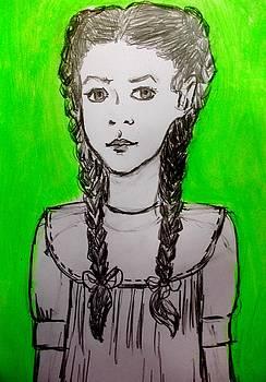 Selfportrait Child by Elena Buftea