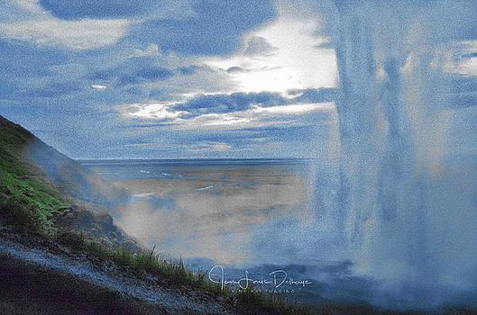 Seljalandsfoss by Jean-Louis Delhaye